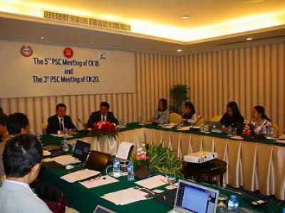 The 5th Project Steering Committee Meeting was held on 7th December in Vientiane, Lao PDR